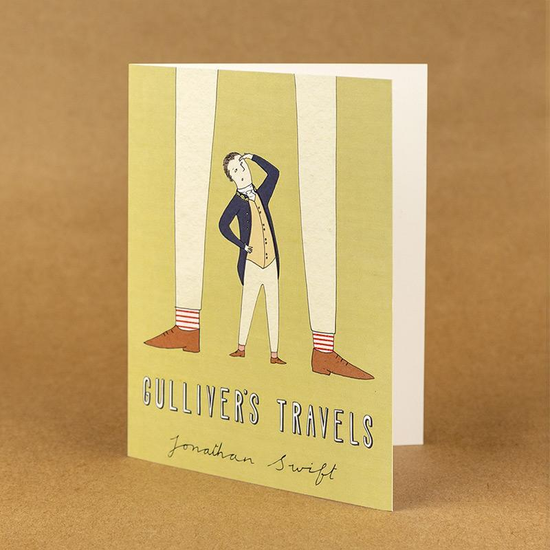 Gulliver's Travels Notecard by Naomi Sloman