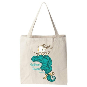 Gulliver's Travels Tote Bag by Roberto Lanznaster Tote Bag Recovering the Classics