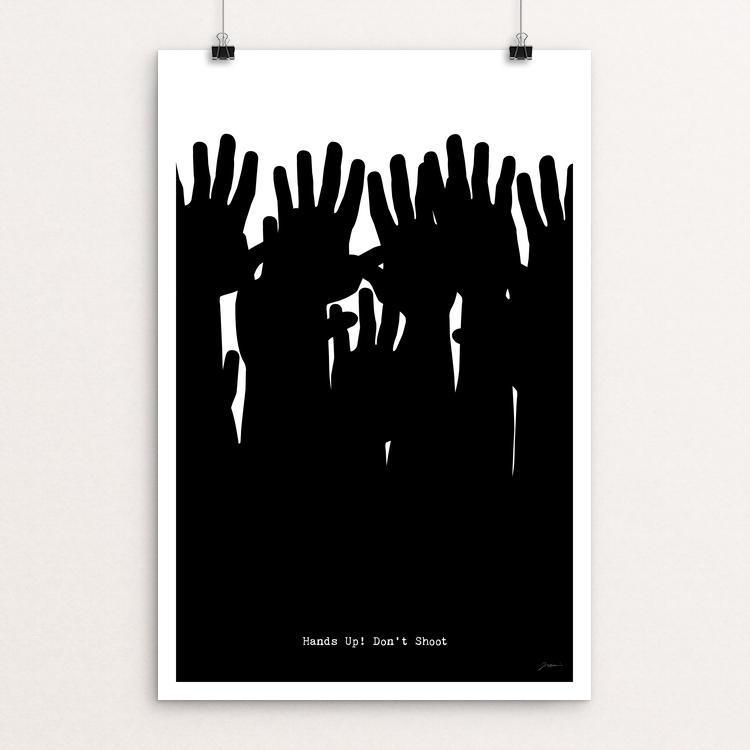 Hands Up! Don't Shoot by Keith Francis
