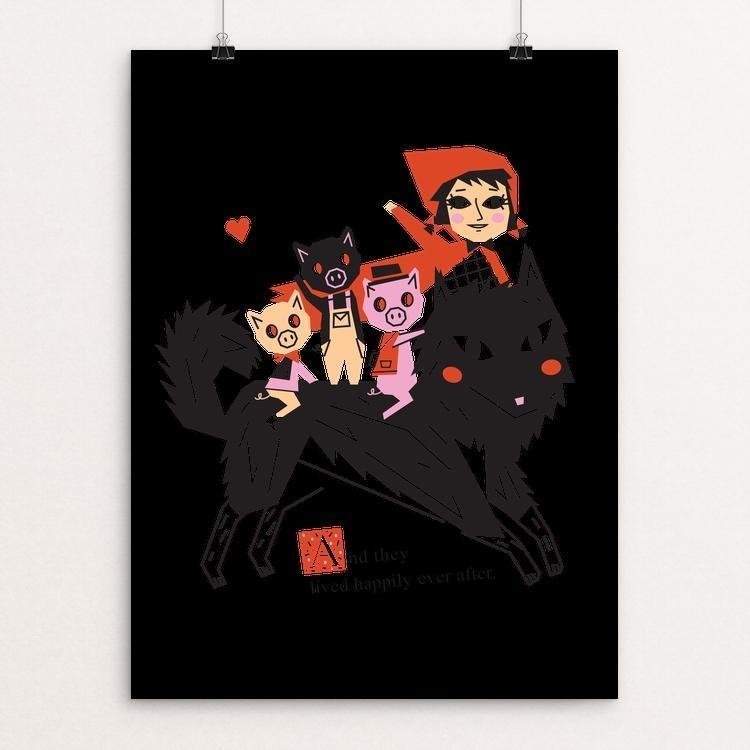 "Happily Ever After by Victoria Fernandez 18"" by 24"" Print / Unframed Print Join the Pack"