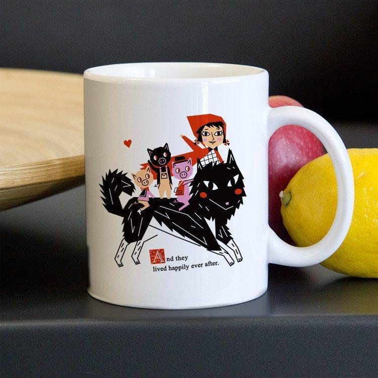 Happily Ever After Mug by Victoria Fernandez