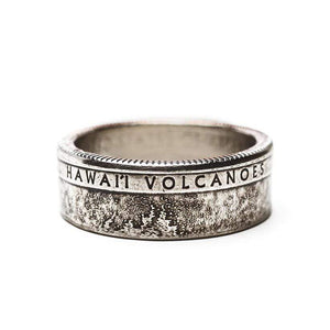 Hawaii Volcanoes National Park Coin Ring Ring See America