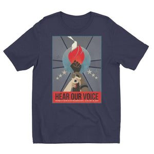 Hear Our Voice Men's T-Shirt by Liza Donovan