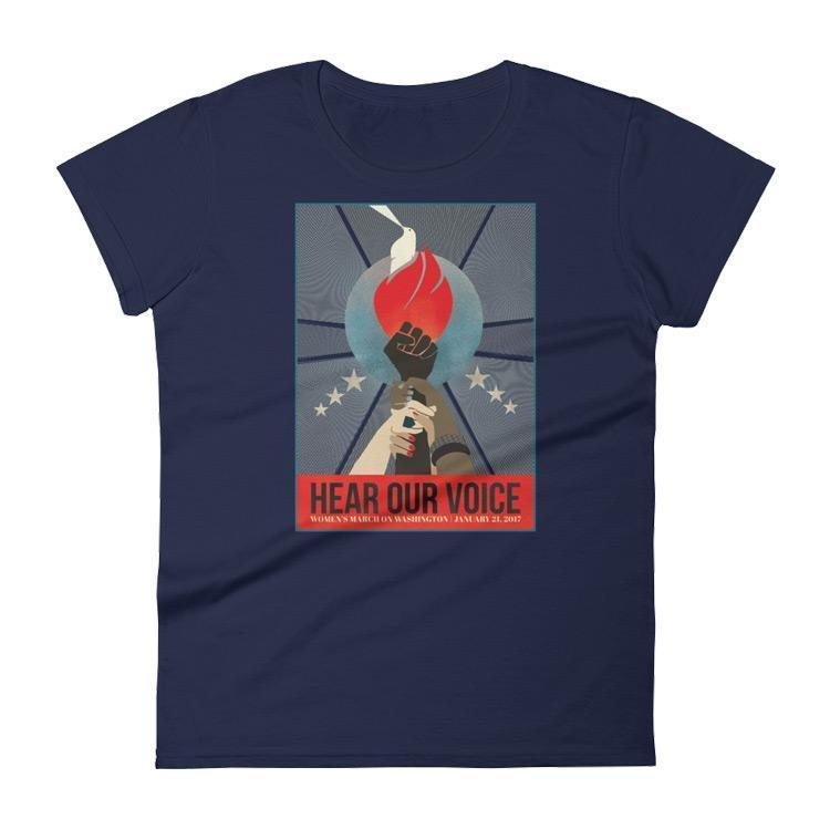 Hear Our Voice Women's T-Shirt by Liza Donovan