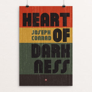 "Heart of Darkness by Ed Gaither 12"" by 18"" Print / Unframed Print Recovering the Classics"