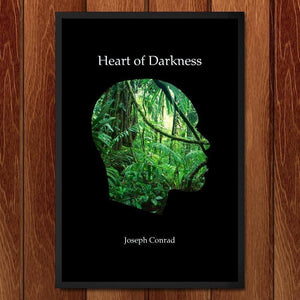 "Heart of Darkness by J.R.J. Sweeney 12"" by 18"" Print / Framed Print Recovering the Classics"