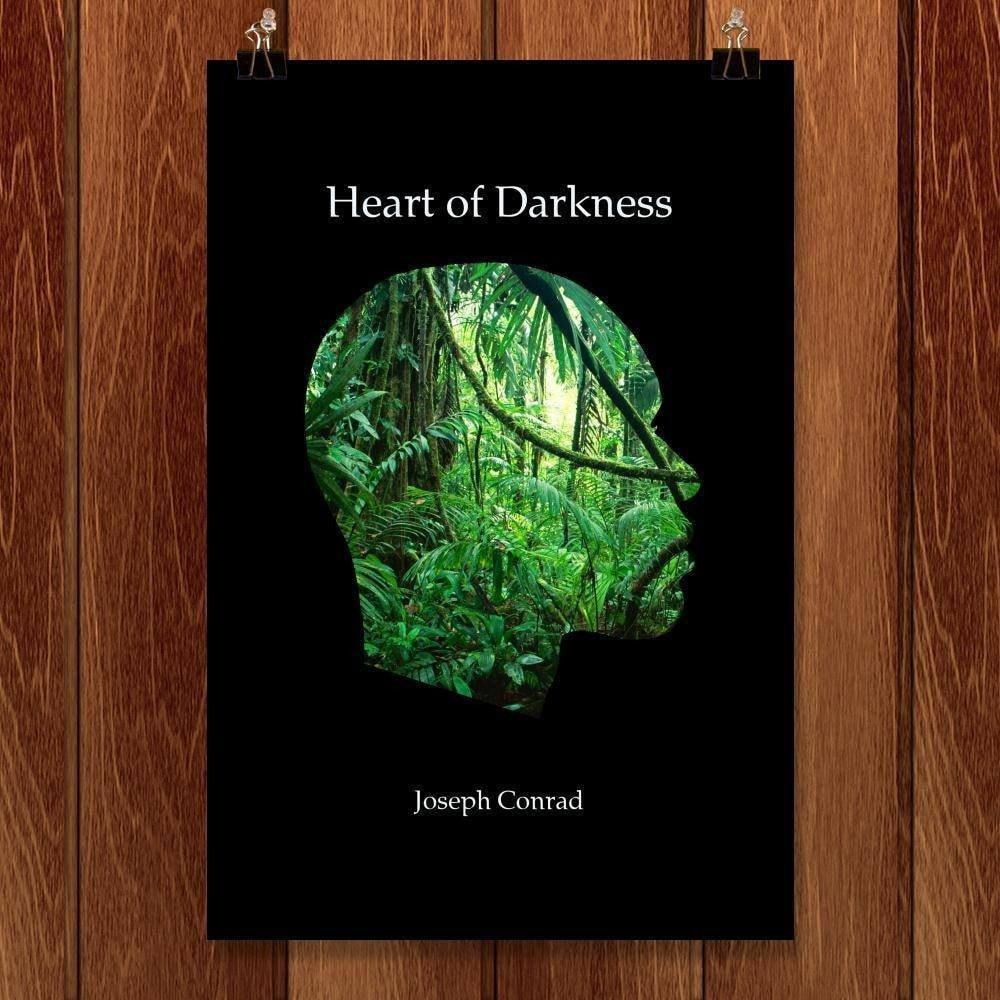 "Heart of Darkness by J.R.J. Sweeney 12"" by 18"" Print / Unframed Print Recovering the Classics"