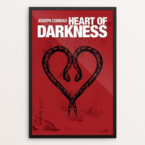 "Heart of Darkness by Mark Forton 12"" by 18"" Print / Framed Print Recovering the Classics"