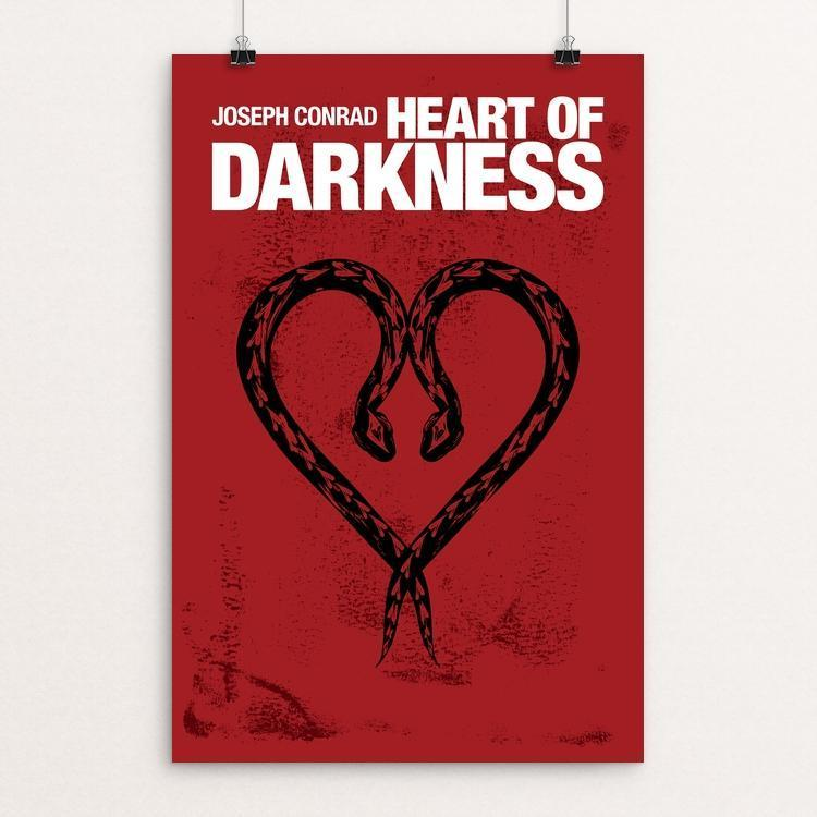 "Heart of Darkness by Mark Forton 12"" by 18"" Print / Unframed Print Recovering the Classics"