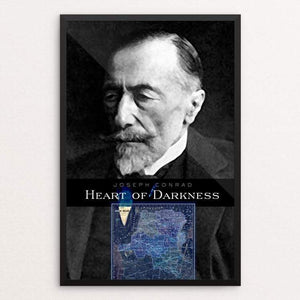 "Heart of Darkness by Vivian Chang 12"" by 18"" Print / Framed Print Recovering the Classics"