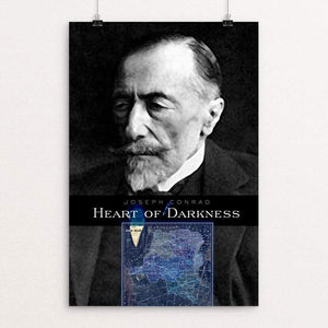 "Heart of Darkness by Vivian Chang 12"" by 18"" Print / Unframed Print Recovering the Classics"