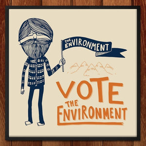Hector is Voting for the Environment by KyLynn