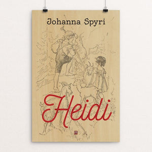 "Heidi by Ed Gaither 12"" by 18"" Print / Unframed Print Recovering the Classics"