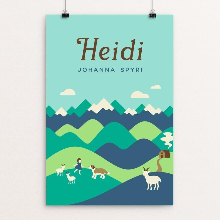 "Heidi by Helen Tseng 12"" by 18"" Print / Unframed Print Recovering the Classics"