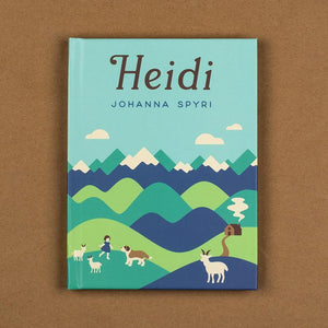 Heidi Hardcover Journal by Helen Tseng Hardcover Journal Hardcover Journal Recovering the Classics