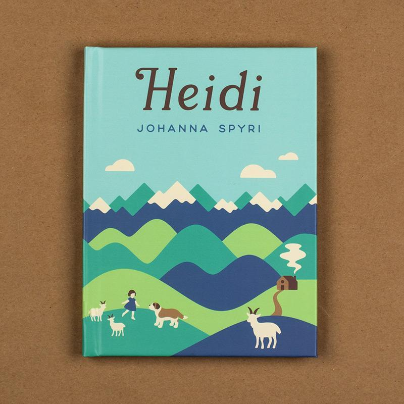 Heidi Hardcover Journal by Helen Tseng