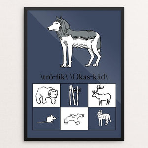 "Her Royal Highness by Sarah Lane 12"" by 16"" Print / Framed Print Join the Pack"
