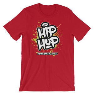 Hip Hop T-Shirt by Darrell Stevens S / Men's T-Shirt What Makes America Great