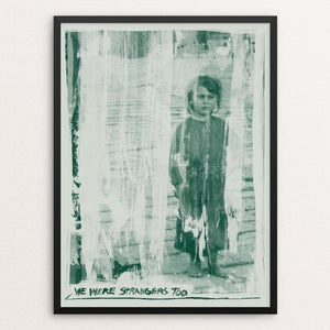 "History Repeats Number One by Mark Forton 12"" by 16"" Print / Framed Print We Were Strangers Too"