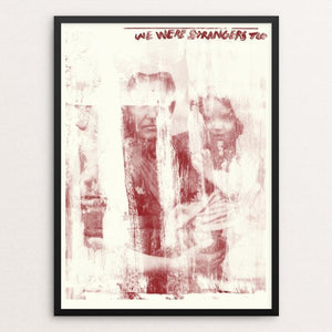 "History Repeats Number Three by Mark Forton 12"" by 16"" Print / Framed Print We Were Strangers Too"