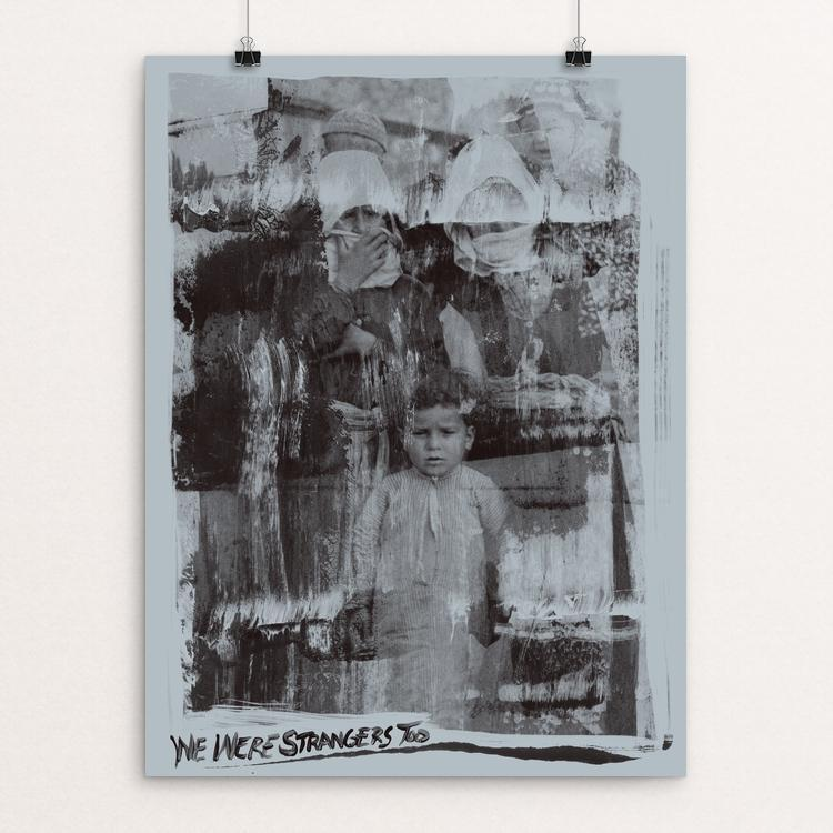 "History Repeats Number Two by Mark Forton 12"" by 16"" Print / Unframed Print We Were Strangers Too"