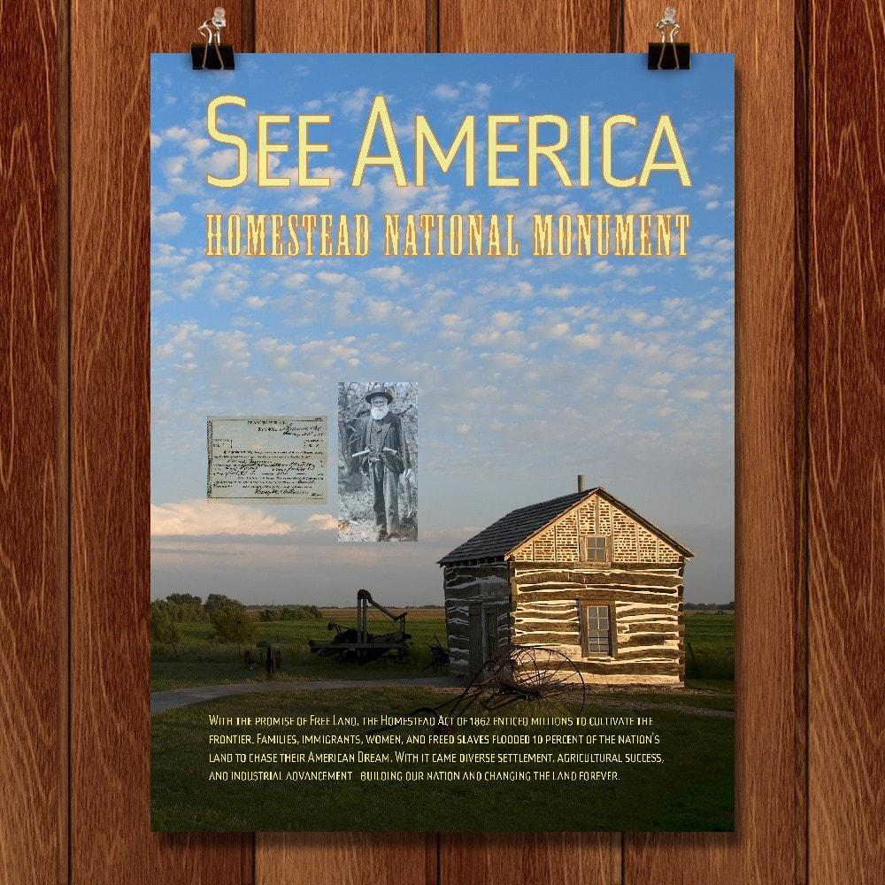 Homestead National Monument of America by Chris Lozos
