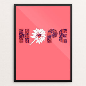 "Hope by Holly Savas 12"" by 16"" Print / Framed Print Creative Action Network"
