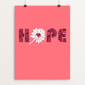 "Hope by Holly Savas 12"" by 16"" Print / Unframed Print Creative Action Network"