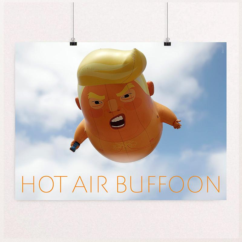 Hot Air Buffoon by Chris Lozos