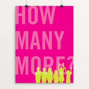 "How Many More by Darrell Stevens 12"" by 16"" Print / Unframed Print The Gun Show"