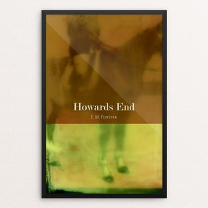 "Howards End by Eben Haines 12"" by 18"" Print / Framed Print Recovering the Classics"