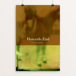 "Howards End by Eben Haines 12"" by 18"" Print / Unframed Print Recovering the Classics"