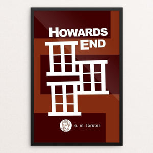 "Howards End by Robert Wallman 12"" by 18"" Print / Framed Print Recovering the Classics"