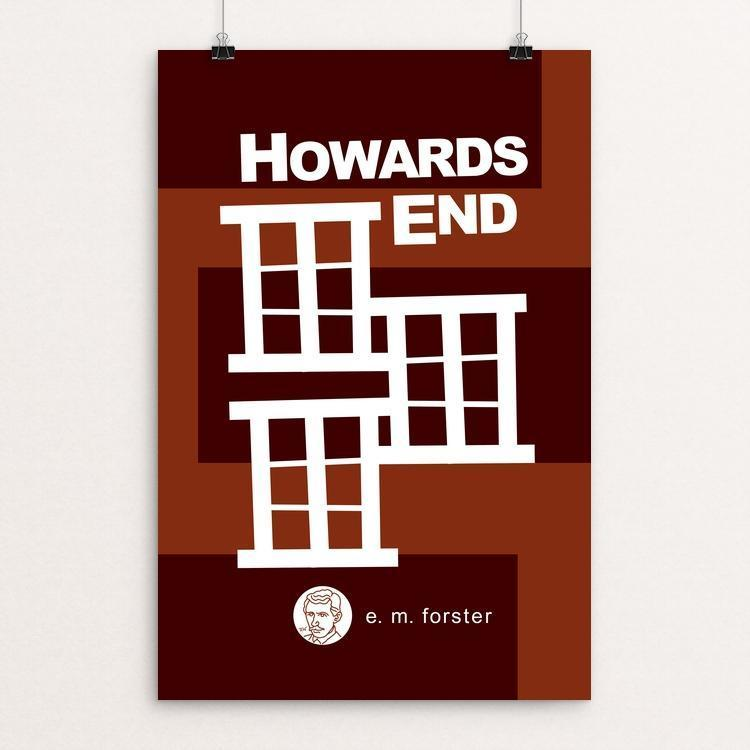 "Howards End by Robert Wallman 12"" by 18"" Print / Unframed Print Recovering the Classics"