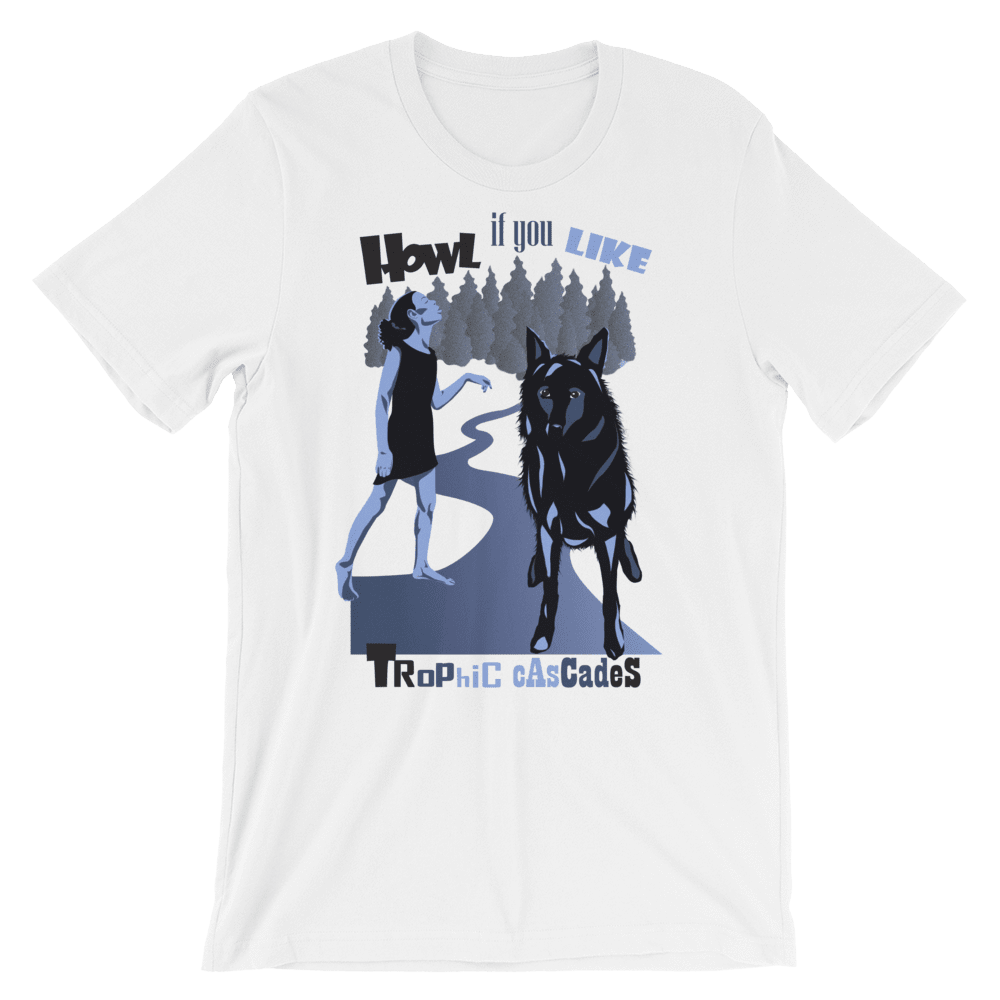 Howl Men's T-Shirt by Sara Mauri Light Blue / XS T-Shirt Join the Pack