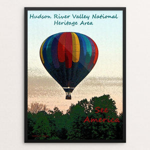 "Hudson River Valley by Anthony Chiffolo 18"" by 24"" Print / Framed Print See America"
