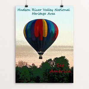 "Hudson River Valley by Anthony Chiffolo 18"" by 24"" Print / Unframed Print See America"