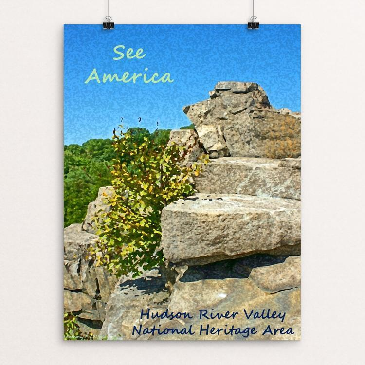 "Hudson River Valley National Heritage Area by Anthony Chiffolo 18"" by 24"" Print / Unframed Print See America"