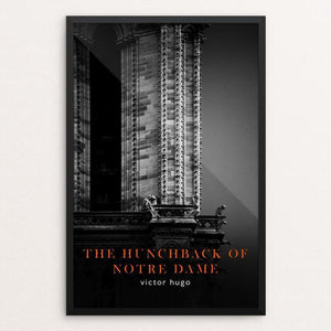 "Hunchback of Notre Dame by Nick Fairbank 12"" by 18"" Print / Framed Print Recovering the Classics"