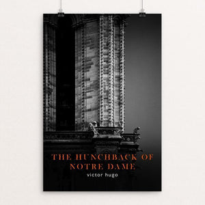 "Hunchback of Notre Dame by Nick Fairbank 12"" by 18"" Print / Unframed Print Recovering the Classics"
