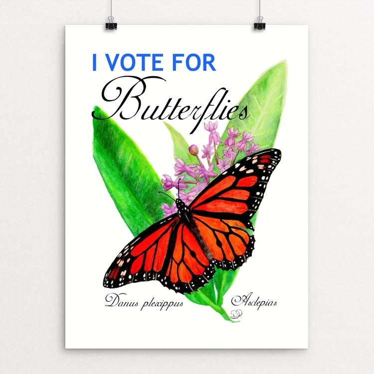 I vote for butterflies by Daisy Hebb