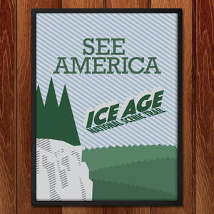 "Ice Age National Scenic Trail by Brenton 18"" by 24"" Print / Framed Print See America"