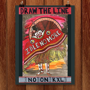 "Idle No More by Luna3 12"" by 16"" Print / Unframed Print Climate Victory"