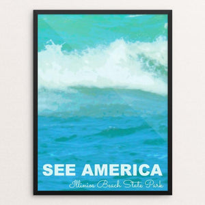 "Illinois Beach State Park 2 by Jillian Chapman 12"" by 16"" Print / Framed Print See America"
