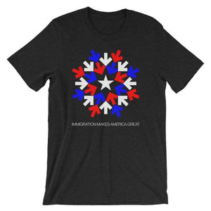 Immigration T-Shirt by Gabriel Benderski S / Men's T-Shirt What Makes America Great