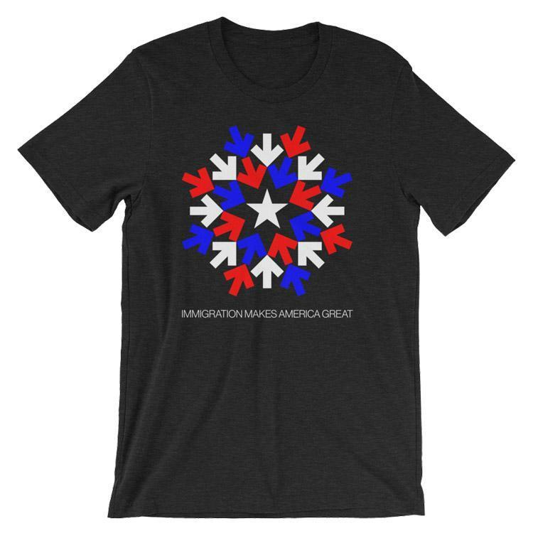 Immigration T-Shirt by Gabriel Benderski