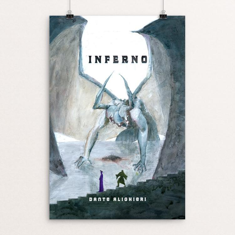 "Inferno by Chris Reisenbichler 12"" by 18"" Print / Unframed Print Recovering the Classics"