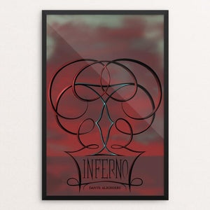 "Inferno by Colt Barron 12"" by 18"" Print / Framed Print Recovering the Classics"