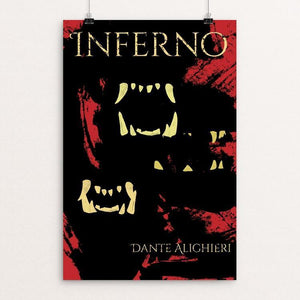 "Inferno by Logan Thurston 12"" by 18"" Print / Unframed Print Recovering the Classics"
