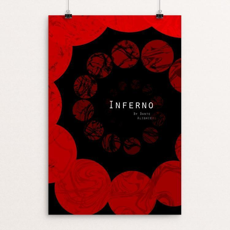 "Inferno Montana Laschanzky 12"" by 18"" Print / Unframed Print Recovering the Classics"